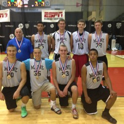 Maine boys basketball team scores two consolation bracket victories at AAU nationals