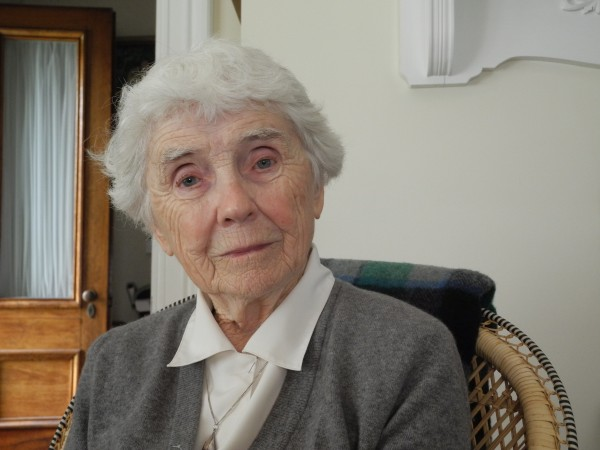 Ellen Fuller, who served in the Army Nurse Corps in World War II, will unveil a new memorial plaque with the Searsport World War II honor roll this week.