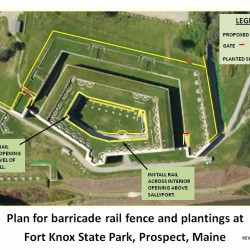 Maine officials preparing to sign agreement to erect 1,800-foot steel fence at historic Fort Knox
