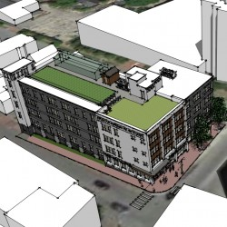 How much parking is enough? Proposed 'healthy living' apartment building in Portland ignites debate