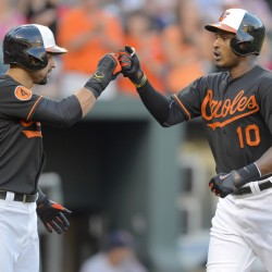Portland's Ryan Flaherty helps Orioles record American League milestone