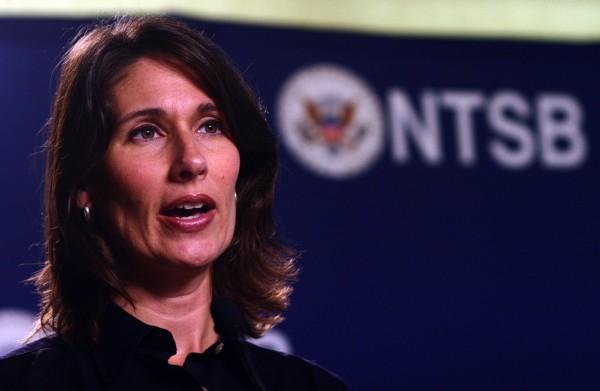 National Transportation Safety Board Chairwoman Deborah Hersman