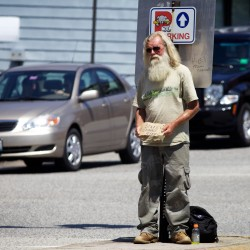 Proposed Portland ordinance would make panhandling in median strips illegal