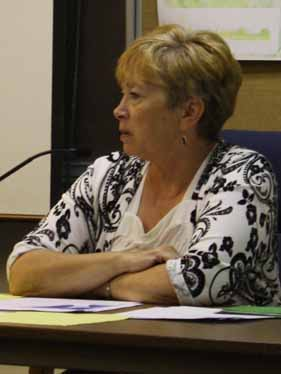 Town Manager Peggy Daigle