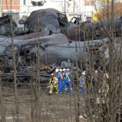 Larger railway subcontracted route section to MMA in Quebec train crash
