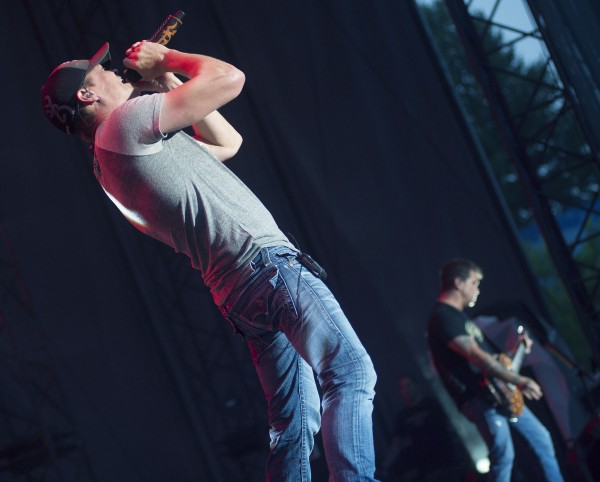 3 Doors Down rocks out during a Bangor Waterfront Concert on Wednesday, July 10, 2013.