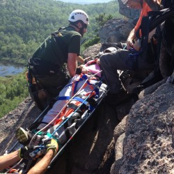Alabama man suffers head injuries in fall on Acadia's Beehive Trail
