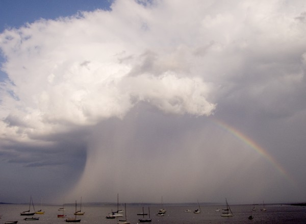 After the rainstorm, Northport, by Paul Sheridan