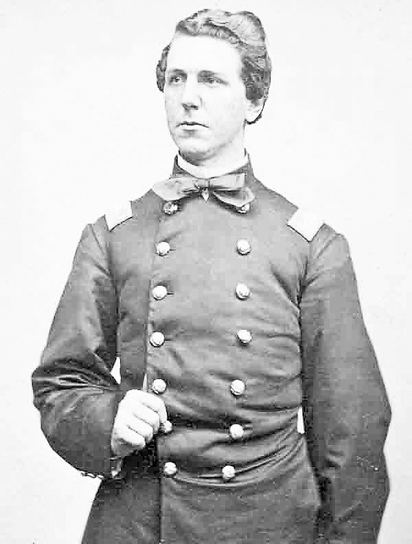 Charles Tilden of Castine joined the fledgling 16th Maine Infantry Regiment in late summer 1862. A talented leader, he commanded the regiment during the Battle of Fredericksburg and led its surviving 275 members onto the battlefield at Gettysburg, Pa. on Wednesday, July 1, 1863. The 16th Maine was sacrificed to &quotbuy time&quot for other Union regiments to escape a closing Confederate trap; Tilden and almost all of his men were lost that day. He was taken prisoner.