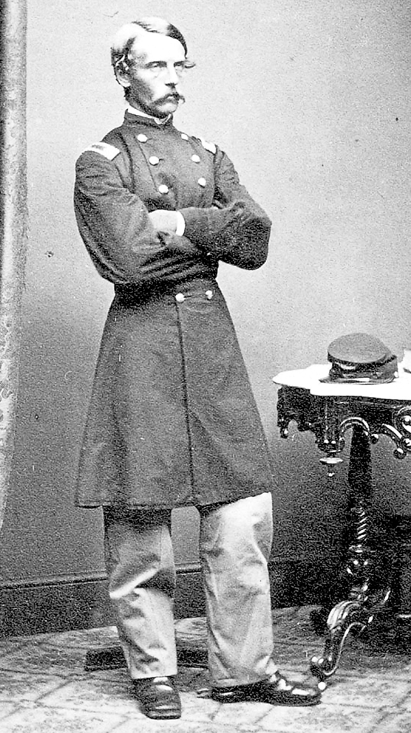 Col. Francis Heath commanded the 19th Maine Infantry Regiment during the Battle of Gettysburg. After helping stop a Confederate assault on Cemetery Ridge on Thursday, July 2, 1863, the regiment helped repel Pickett's Charge the next day.