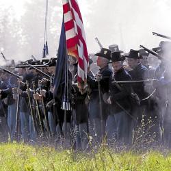 Elijah Walker fought with the devil in his rocky Gettysburg den