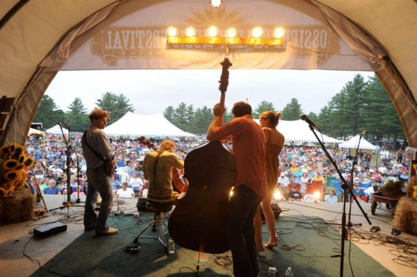 Crooked Still Performing at the Ossipee Valley Music Festival