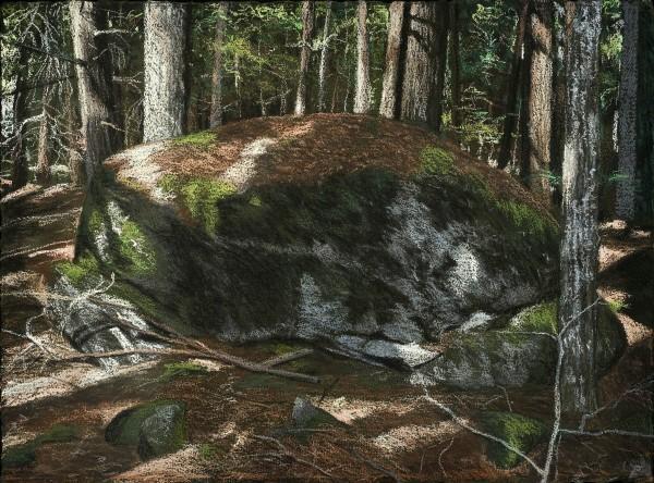 Fernald's Neck 3 by John Woolsey, pastel