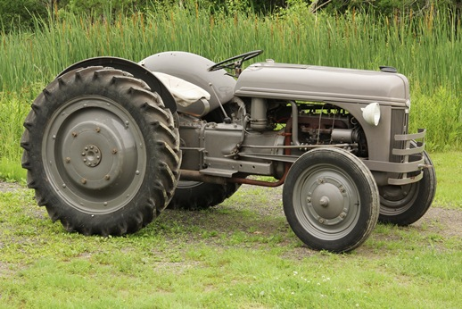 Fully restored 1939 Ford-Ferguson tractor in running condition that will be sold in Thomaston Place Auction Galleries' sale on August 24 & 25