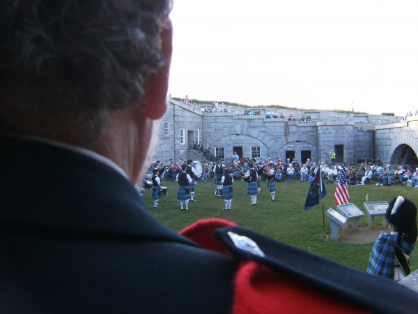 Scottish Tattoo at Fort Knox