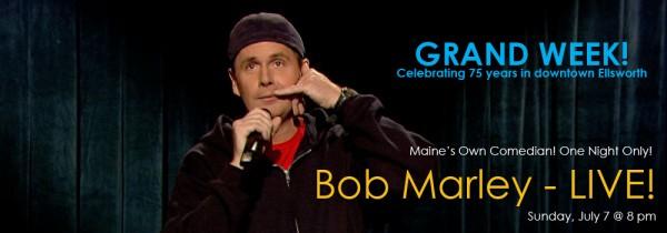 Don't miss Bob Marley at The Grand!