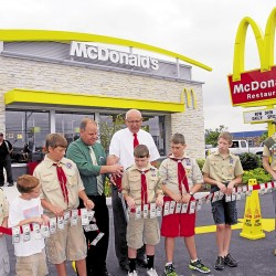 McDonald's to move across Main Street