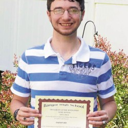 Bangor High School student wins $1,000 scholarship in national competition
