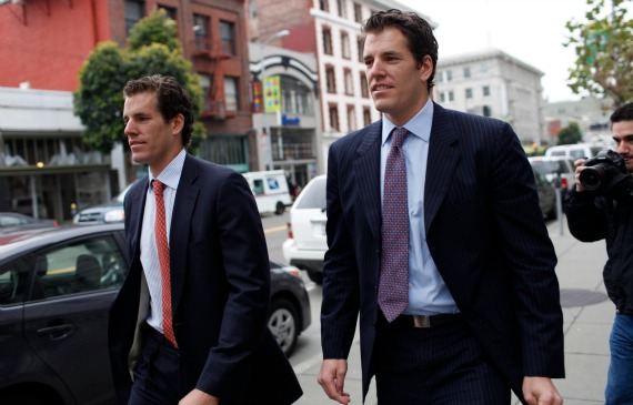 Cameron and Tyler Winklevoss this week filed with the Securities and Exchange Commission to create the Winklevoss Bitcoin Trust, a variation of an exchange-traded fund that would hold Bitcoins and issue shares on a secondary exchange.