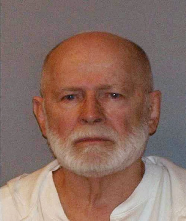Former mob boss and fugitive James &quotWhitey&quot Bulger, who was arrested in Santa Monica, California on June 22, 2011 along with his longtime girlfriend Catherine Greig is shown in this 2011 booking photo.