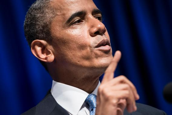 Obama will speak on the economy during his trip to the Midwest as proof the White House is remaining focused.
