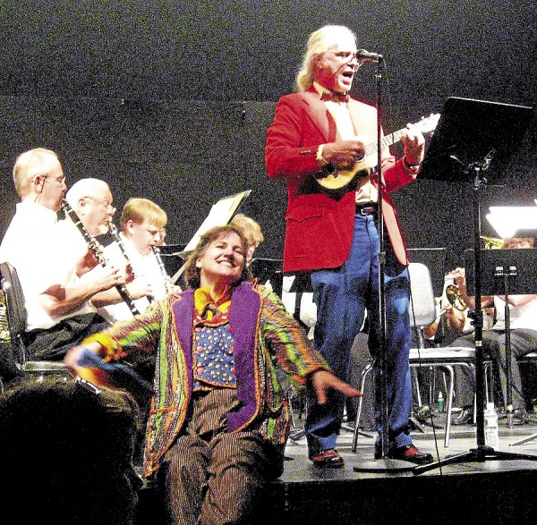 The 17th Annual Down East Center Ring Circus Band will appear at the Bucksport Performing Arts Center on July 12.