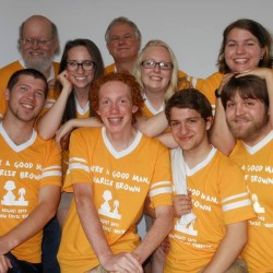 "Cast & Crew of Camden Civic Theatre's ""You're a Good Man, Charlie Brown"""