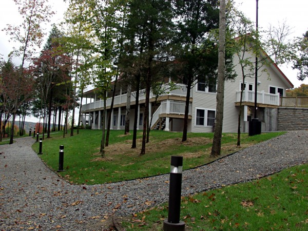 Children from the Bangor area chosen to attend the Tim Horton Children's Foundation Camp Kentahten in Campbellville, Ky., stay in residential facilities such as this one at the camp.