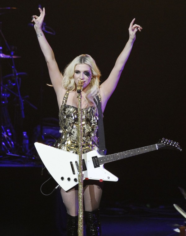 Ke$ha performs at KIIS FM's Jingle Ball concert in Los Angeles