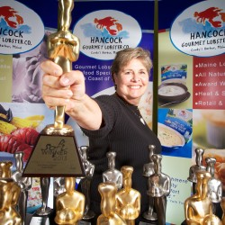 Topsham lobster queen wins NYC's Fancy Food Show — again