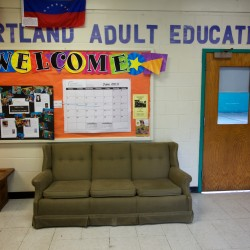 Portland Adult Education temporarily moved its academic classes into a former elementary school building on Douglass Circle nearly 27 years ago.