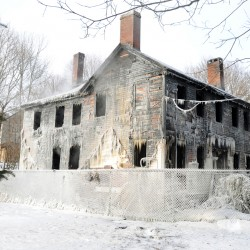 Fire that destroyed historic Court Street home Thursday started in chimney, officials say