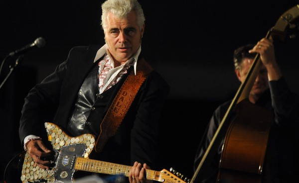 Dale Watson performs at the Dance Stage on opening night of the 2010 American Folk Festival.