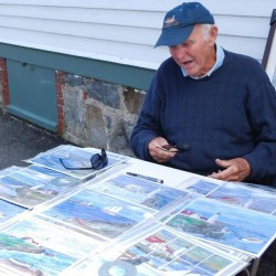 Artist accuses Cape Elizabeth officials of considering park rules that violate Constitution