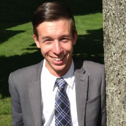GOP leader Alexander Willette, 24, says he is a candidate for Maine's 2nd Congressional District