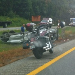 No serious injury in SUV crash on I-95