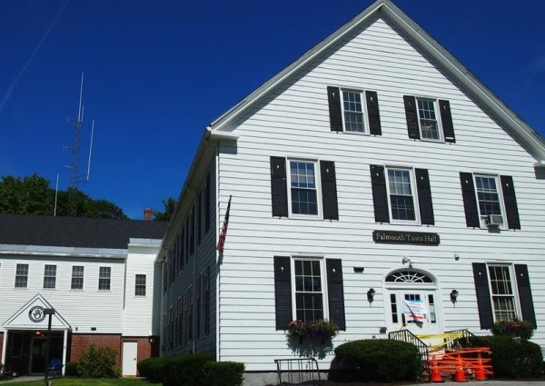 Falmouth Town Hall is undergoing regular maintenance on its front steps, Tuesday, Aug. 6, but more renovations could be on the horizon. According to a new report, the building needs more than $900,000 in renovations.