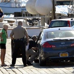 Car hits family of four on Port Clyde pier, killing 9-year-old boy