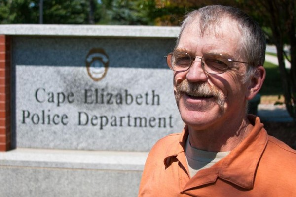 Ed Hunt, 61, has served as a dispatcher/desk clerk at the Cape Elizabeth Police Department for 40 years. He is the longest tenured employee of the town.