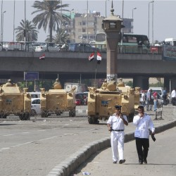Egyptian soldiers killed in Sinai as protest toll rises to 49
