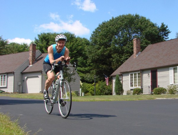 Ann Dillon, 62, of North Yarmouth will participate in the Age Group World Championship triathlon in London next month.