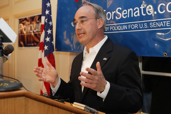 Bruce Poliquin during his 2012 primary run for the Republican nomination for U.S. Senate.