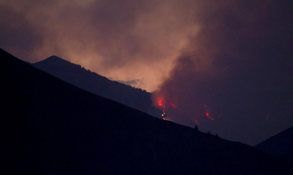 Firefighters continue to battle the Beaver Creek Fire in the Wood River Valley of Blaine County near Hailey, Idaho, Saturday, August 17, 2013.