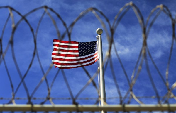 The U.S. flag flies over Camp VI, a prison used to house detainees at the U.S. Naval Base at Guantanamo Bay, in this March 5, 2013 file photo.