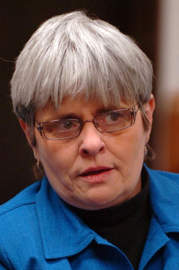 Bangor city councilor Susan Hawes