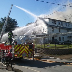 Fire chief: Electrical cord caused Bucksport building fire