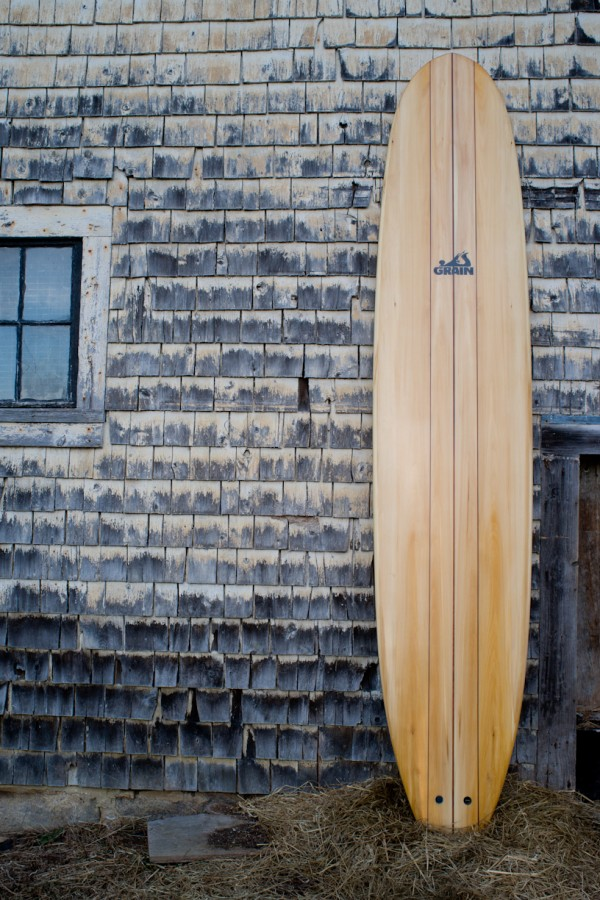The Cutwater -- a longboard crafted by Grain Surfboards of York, Maine -- is a nose rider, specially designed for getting out on the nose and &quothanging ten,&quot according to Grain Surfboards co-owner Mike LaVecchia.