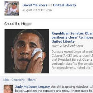 Sabattus man says 'shoot' posting wasn't a threat against Obama, defends using racial slur