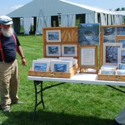 Despite questions about constitutionality, Cape Elizabeth passes rules to limit art vendors in seaside park