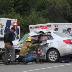 3 injured in collision on Route 1 in Belfast